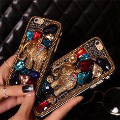 Elephant iphone 6 plus cases bling rhinestone iphone 6 plus case fashion crystal iphone case for iphon 4/4s iphone 5/5s iphone 6 plus cover by CrystalWholesaleShop on Etsy https://www.etsy.com/listing/208334559/elephant-iphone-6-plus-cases-bling