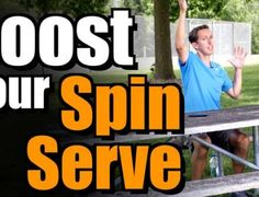 How To Boost Your Spin Serve