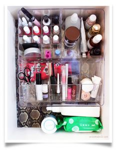 Organize Your Makeup In a Drawer - 13 Perfect DIY Makeup Organization Ideas