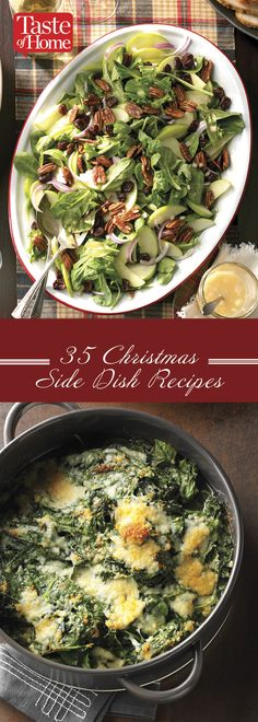 35 Christmas Side Dish Recipes