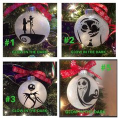 Nightmare before Christmas Jack and sally by HollyJollyWorks