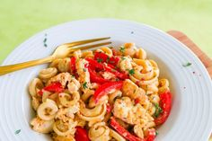 Koti, Pasta Salad, Curry, Food And Drink, Ethnic Recipes, Red Peppers, Crab Pasta Salad, Curries