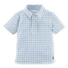 Featherweight Cotton Mesh Polo - Baby Boy Polo Shirts - RalphLauren.com