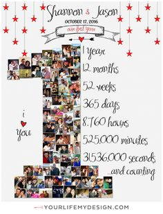 ANNIVERSARY, Anniversary Photo Collage, Anniversary Gift for boyfriend, Anniversary Gift for gir Anniversary Gift Ideas For Him Boyfriend, Cute Anniversary Gifts, Cute Boyfriend Gifts, Diy Gifts For Girlfriend, Anniversary Decorations, One Year Anniversary, Anniversary Photos, Boyfriend Ideas, Anniversary Surprise For Him