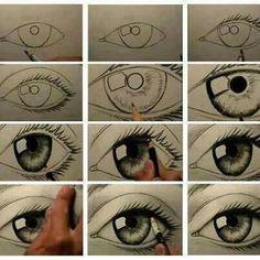 comment dessiner un oeil magnifique *o* - Blog de les-patates-bleues - Skyrock.com