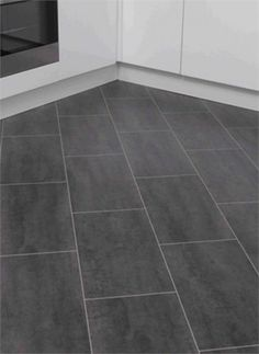 Tile Effect Laminate Flooring For Kitchens superb tile - Kitchen Ideas Tile Effect Laminate Flooring, Laminate Flooring In Kitchen, Diy Flooring, Flooring Ideas, Kitchen Vinyl, Kitchen Tiles, Room Tiles, Classy Living Room, My Living Room