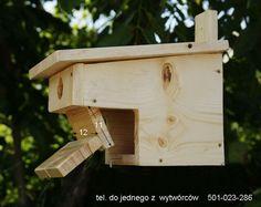Budki lęgowe dla ptaków zabezpieczone przeciw srokom