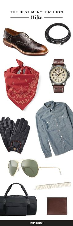 It's time to get your man on your level, stylistically speaking, of course. Whether your dad's in the market for a new briefcase, your husband could use a new