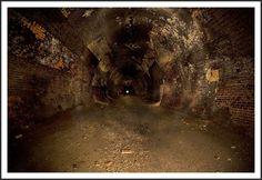 Abandoned Railway Tunnel Interior