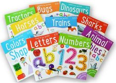 Miles Kelly Learn To Write Wipe Clean Activity 10 book set