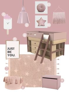Pairing perfect late summer pinks to achieve this cherry popsicle look Cherry Popsicles, Just Be You, Little Monkeys, Late Summer, Get The Look, Kids Room, Clever, Pink, Home Decor