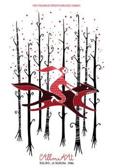 CALLmeKAT. Poster design: Sabrina Gabrielli (2013).