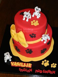101 Dalmatians cake — Children's Birthday Cakes