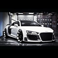 Futuristic looking Audi R8