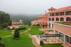 The Ritz Carlton Penha Longa is a former monastery from the XIV Century. What a great property in Portugal.