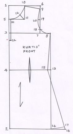 Excellent Free of Charge how to stich kurti sewing tutorials Concepts Drafting Procedures of Ladies Kurti R. Balakumar M.(SOCIOLOGY ), M. Kurta Patterns, Dress Sewing Patterns, Sewing Patterns Free, Salwar Pattern, Pattern Drafting Tutorials, Sewing Tutorials, Sewing Ideas, Sewing Projects, Blouse Tutorial