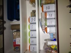 I've been throwing these damn things away ever since Barrett quit breast feeding at 4 months. Reuse Formula Containers, Baby Food Containers, Plastic Containers, Baby Jars, Baby Food Jars, Formula Cans, Making Life Easier, Repurposed Items, Jar Crafts