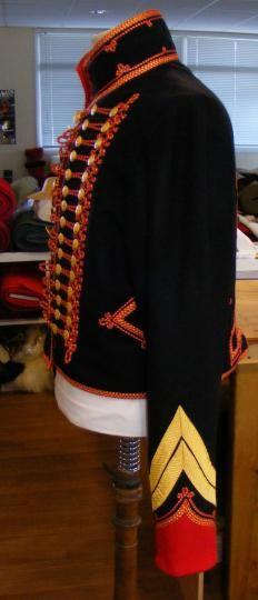 Maitre d'equipage de marin de la garde: full dress