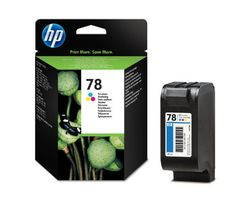 Hewlett Packard [HP] No. 78 Inkjet Cartridge 19ml Tri-colour Ref C6578DE - This HP 78 Ink Cartridge is for refilling HP inkjet printers.   Using HP patented, dye-based ink, this cartridge produces impressive colour accuracy and vivid, true-to-life photos that are virtually grain-free.   This reliable, easy to install cartridge has a 19ml capacity and yields 560 pages... - http://ink-cartridges-ireland.com/hewlett-packard-hp-no-78-inkjet-cartridge-19ml-tri-colour-ref-c6578de/