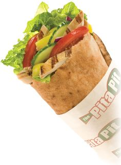 Get your Pita Pit Sandwich today. Chicken Caesar and Gyro are the most popular. Try the Tuna for Lent Pita Pit, Chicken Pita, Cooking Recipes, Healthy Recipes, Healthy Meals, Filling Food, Breakfast Items, Love Food, Healthy Eating