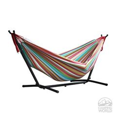 Vivere's Combo - Double Salsa Hammock with Stand (9ft)