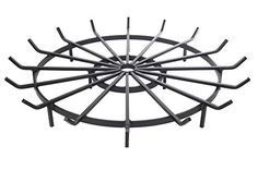 Wagon Wheel Firewood Grate for Fire Pit – 36 Inch Diameter