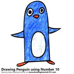 Penguin using Number 10