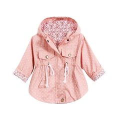 Cotton Blend Casual Jacket for Toddlers in 3 Colors