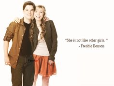 """She is not like other girls""  #Seddie"