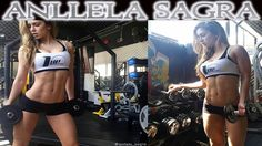 ANLLELA SAGRA - Fitness Model: Abs Workouts @ Colombia