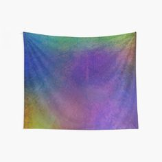 Rainbow Enchanted Jungle Decor and Style Collection Wall Tapestry Tapestry Wall Hanging, Wall Hangings, Jungle Jungle, Cool Walls, Window Coverings, Tapestries, Enchanted, Different Fabrics, Rainbow