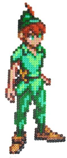 Peter Pan hama beads by pixgraff