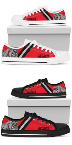 size 40 d7ef1 f4bab Georgia Bulldogs Inspired Shoes Hey Georgia Bulldogs Fans! Show off your  team pride by rocking