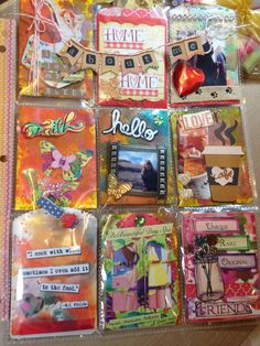 Hello About Me Pocket Letter by Christina Betts