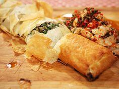 Recetas | Strudel de hongos con camarones | Utilisima.com