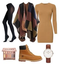 """""""fall"""" by shopaholic02 on Polyvore featuring A.L.C., Fogal, Timberland, Daniel Wellington and Urban Decay"""