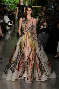 A look from Elie Saab couture spring 2015. Photo: Imaxtree
