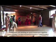 Dance Movement Therapy -Video for trainers (Art Made Man Integrated Methodology), part one.