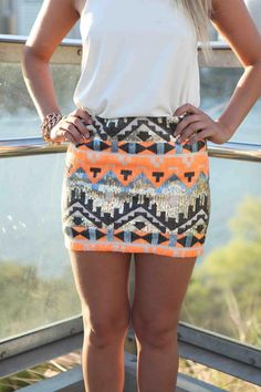 Skirt needs to be a little longer but other than that it's really cute!!!!!!