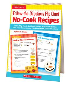 Look at this Follow-the-Directions Flip Chart: No-Cook Recipes Workbook on #zulily today!