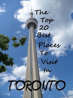 A list of some of the most interesting and unique places to visit while in Toronto, Canada. If you are looking for vacation ideas in Toronto, than check out 20 of the most interesting places to visit in Toronto.
