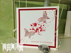 Rot und Weiß ~ STEMPEL...und deine Ideen werden wahr... Hello Live, Cover, Books, Cards, Stamps, Red, Ideas, Libros, Book
