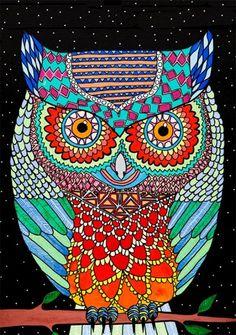 'Owl' by Joel Moore Mulga