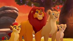 The Lion Guard, where they made Simba too cartoony and Kiara practically a polar opposite of her TLK2 self.