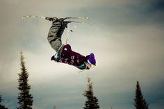 do a backflip on skis.