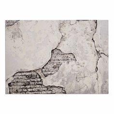 KESS InHouse Sylvia Cook 'Crumbling Wall' Brown Gray Dog Place Mat, x ** New and awesome dog product awaits you, Read it now : Dog food container Dog Food Container, Grey Dog, Linen Store, Best Bath, Bath Mat Sets, Bath Rugs, Beach Day, Memory Foam, Urban