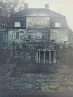 Abandoned; beautiful in its time