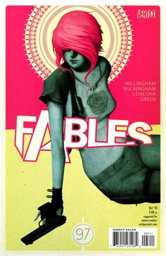 Fables #97 - Dark Age Party Girl, Chapter Four of Rose Red (Issue)