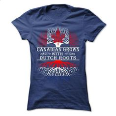 Canadian Grown with Dutch Roots - #tee ideas #hoodie novios. GET YOURS => https://www.sunfrog.com/States/Canadian-Grown-with-Dutch-Roots-76523596-Ladies.html?68278