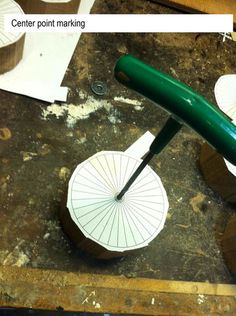 Wooden toys wheel making #1: Take-off